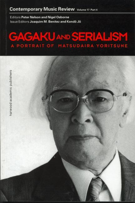 Gagaku and Serialism book cover