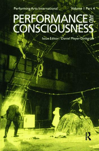 Performance & Consciousness book cover