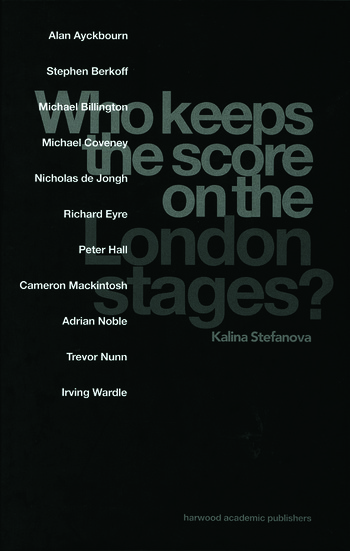 Who Keeps the Score on the London Stages? book cover