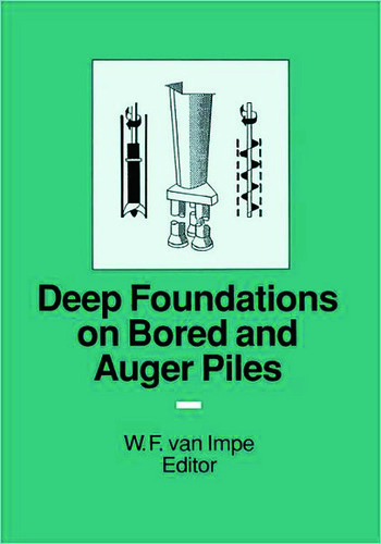 Deep Foundations on Bored and Auger Piles - BAP III book cover