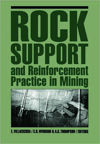Rock Support and Reinforcement Practice in Mining book cover