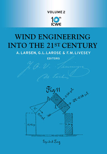 Wind Engineering Into the 21st book cover