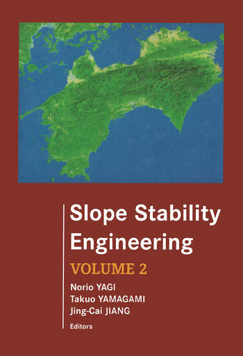 Slope Stability Engineering Proceedings of the International Symposium, IS-Shikoku '99 book cover