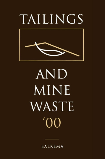Tailings and Mine Waste 2000 book cover
