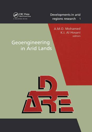 Geoengineering in Arid Lands book cover