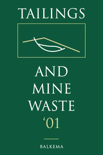 Tailings and Mine Waste 2001 book cover