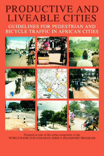 Productive and Liveable Cities book cover