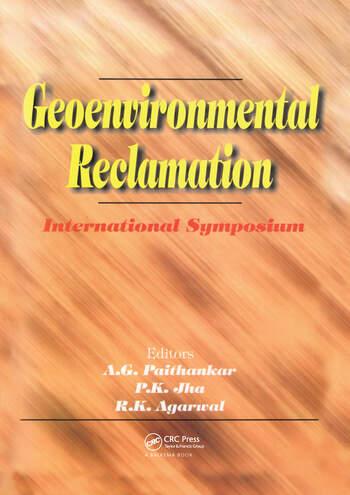 Geoenvironmental Reclamation book cover