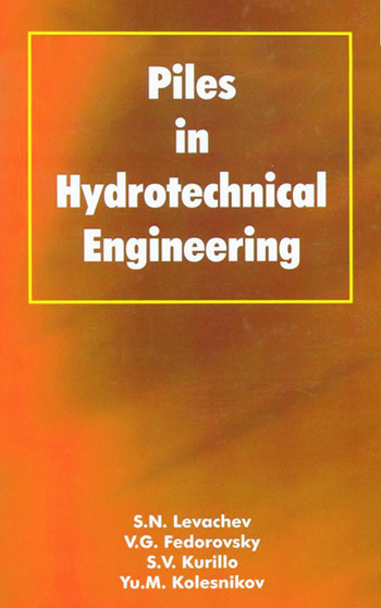 Piles in Hydrotechnical Engineering book cover