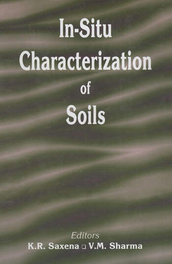 In-situ Characterization of Soils book cover