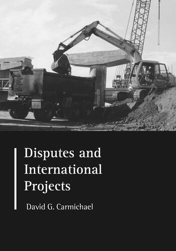 Disputes and International Projects book cover