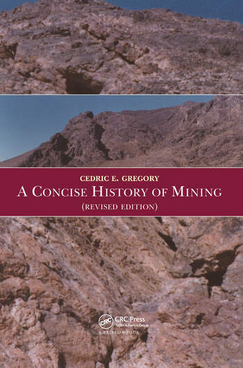 A Concise History of Mining book cover