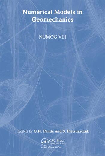 Numerical Models in Geomechanics Proceedings of the 8th International Symposium NUMOG VIII, Rome, Italy, 10-12 April 2002 book cover