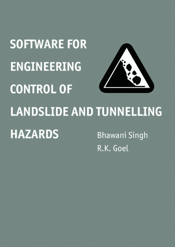 Software for Engineering Control of Landslide and Tunnelling Hazards book cover