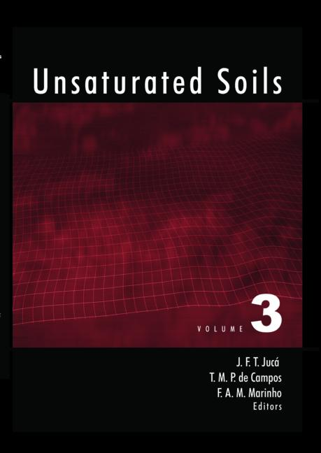 Unsaturated Soils Proceedings of the Third International Conference, UNSAT 2002, Recife, Brazil, 10-13 March 2002 book cover