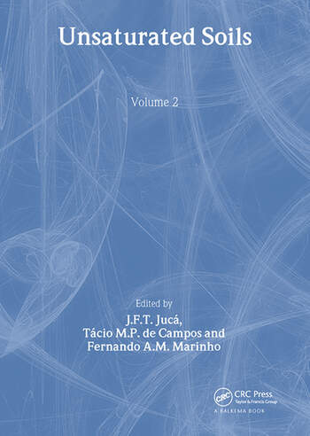 Unsaturated Soils - Volume 2 Proceedings of the 3rd International Conference on Unsaturated Soils, UNSAT 2002, 10-13 March 2002, Recife, Brazil book cover