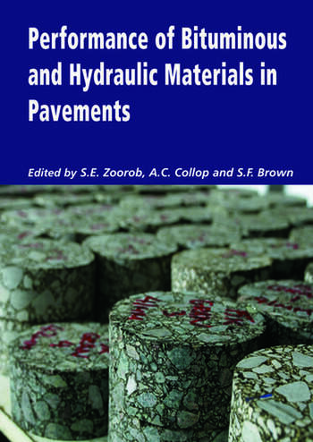 Performance of Bituminous and Hydraulic Materials in Pavements Proceedings of the Fourth European Symposium, Bitmat4, Nottingham, UK, 11-12 April 2002 book cover