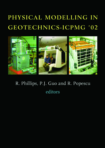 Physical Modelling in Geotechnics Proceedings of the International Conference ICPGM '02, St John's, Newfoundland, Canada. 10-12 July 2002 book cover