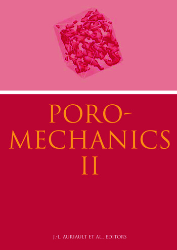 Poromechanics II Proceedings of the Second Biot Conference on Poromechanics, Grenoble, France, 26-28 August 2002 book cover