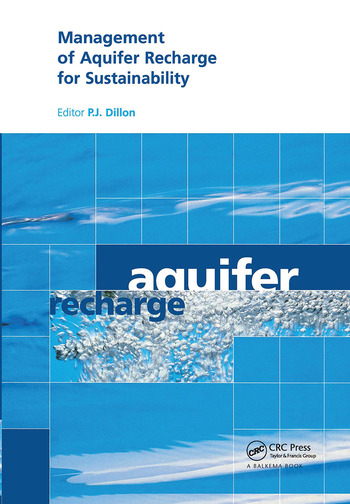 Management of Aquifer Recharge for Sustainability Proceedings of the 4th International Symposium on Artificial Recharge of Groundwater, Adelaide, September 2002 book cover