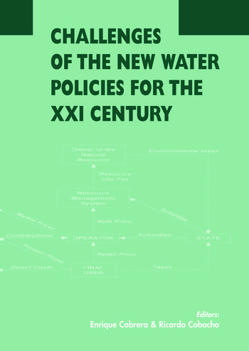 Challenges of the New Water Policies for the XXI Century Proceedings of the Seminar on Challenges of the New Water Policies for the 21st Century, Valencia, 29-31 October 2002 book cover
