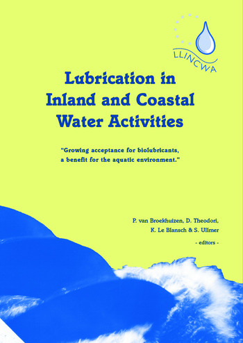 Lubrication in Inland and Coastal Water Activities book cover