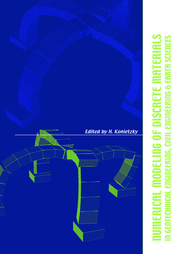 Numerical Modelling of Discrete Materials in Geotechnical Engineering, Civil Engineering and Earth Sciences Proceedings of the First International UDEC/3DEC Symposium, Bochum, Germany, 29 September - 1 October 2004 book cover