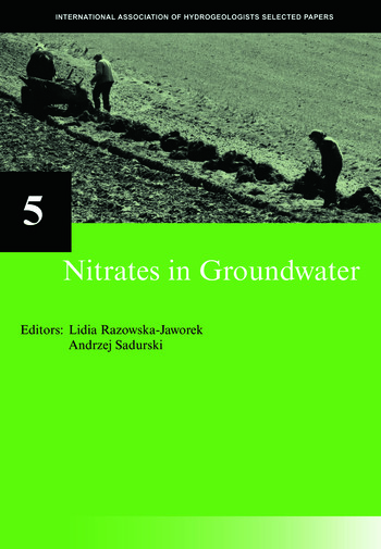 Nitrates in Groundwater IAH Selected Papers on Hydrogeology 5 book cover