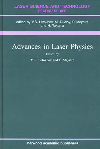 Advances In Laser Physics book cover