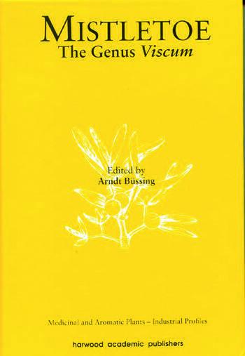 Mistletoe The Genus Viscum book cover