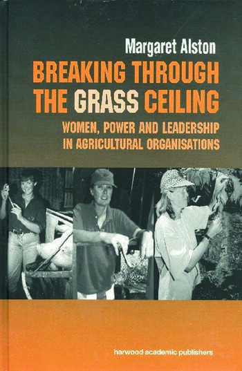 Breaking Through Grass Ceiling book cover