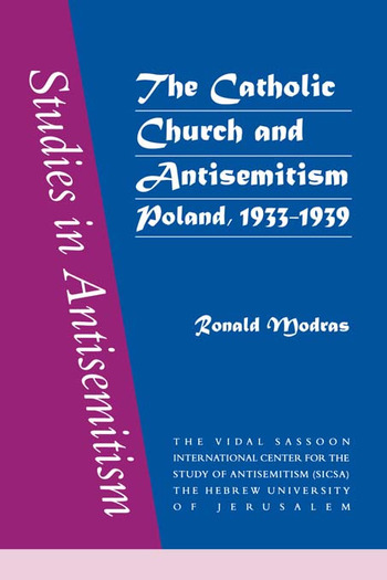 The Catholic Church and Antisemitism book cover