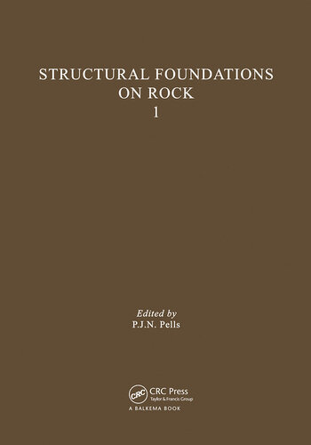 Structural Foundations on Rock, volume 1 Proceedings of the International Conference, Sydney, 7-9th May 1980 book cover