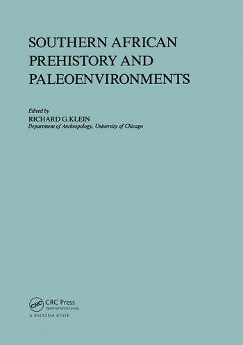 Southern African Prehistory and Paleoenvironments book cover