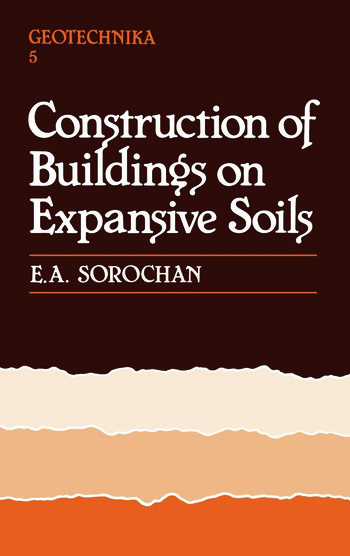 Construction of Buildings on Expansive Soils book cover