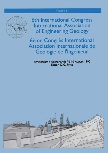 Proceedings of the 6th Congress of the International Association of Engineering Geology book cover