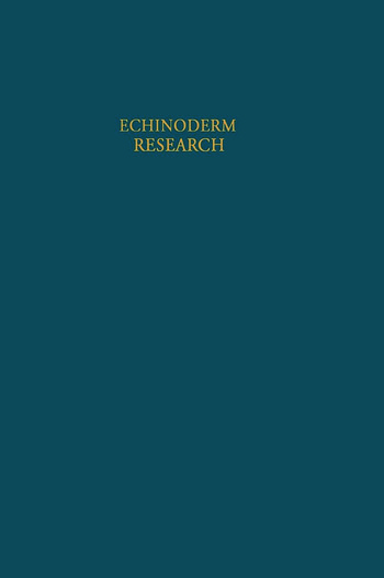 Echinoderm Research book cover