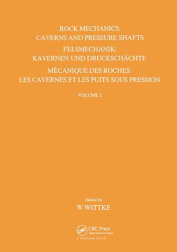 Rock Mechanics - Volume 2 book cover