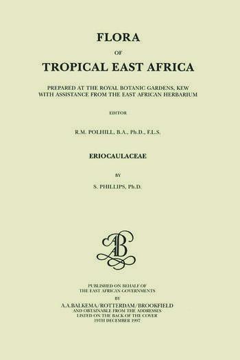 Flora of Tropical East Africa - Eriocaulaceae (1997) book cover