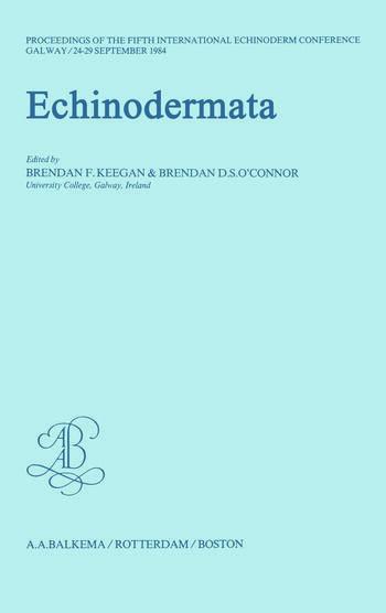 Echinodermata book cover