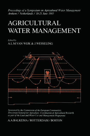 Agricultural Water Management book cover
