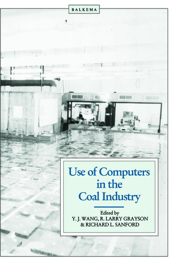 Use of Computers in the Coal Industry 1986 book cover