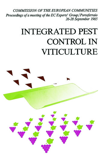 Integrated Pest Control in Viticulture book cover