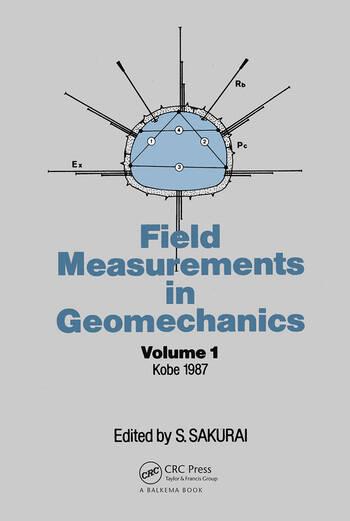 Field Measurem Geomechanics Volume 1 book cover