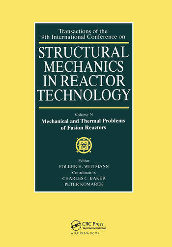 Structural Mechanics in Reactor Technology Mechanical and Thermal Problems of Fusion Reactors book cover