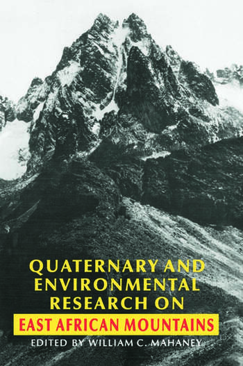 Quaternary and Environmental Research on East African Mountains book cover