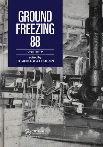 Ground Freezing 88 - Volume 2 Proceedings of the fifth international symposium, Nottingham, 26-27 July 1988, 2 volumes book cover