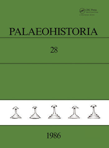 Palaeohistoria Institute of Archaeology, Groningen, the Netherlands book cover