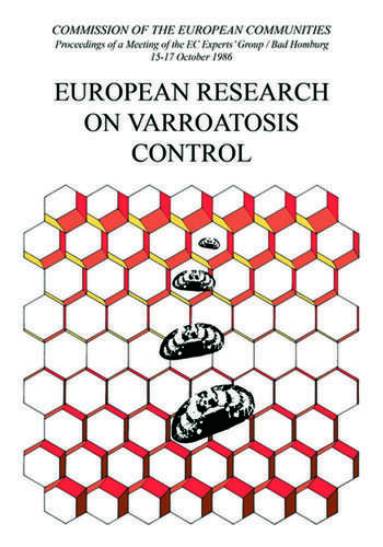 European Research on Varroatosis Control book cover