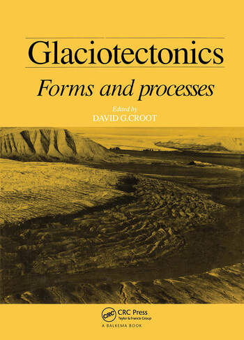 Glaciotectonics book cover